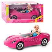Кукла с машиной DEFA 8228