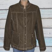 Новая ветровка Biaggini. Новый жакет, пиджак, Ткань под замш, дубляж. замшевый, замшевая. куртка,