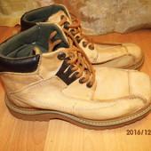 (№і205)фирменные кожаные ботинки 43 р Landrover