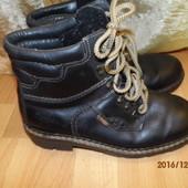 (№і209)фирменные кожаные зимние  ботинки 44 рKlondike
