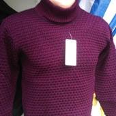 Теплый свитер. разные цвета.