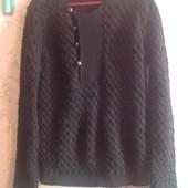 Шерстяой свитер на L р-р. Смотрим замеры и фото в магазине.