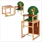 Стульчик для кормления трансформер деревянный МV-010-22-8
