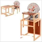 Стульчик для кормления трансформер деревянный МV-010-26-6