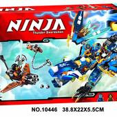 """Конструктор Bela Ninja 10446 """"Дракон стихий Джея"""" 349 деталей"""