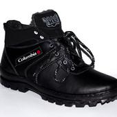 Зимние ботинки Columbia на меху, качество выше цены, есть 40-45 размеры.