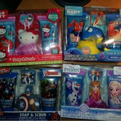 Набор подарочный для девочки, для мальчика, Hello Kitty, в поисках немо,  Дори, подарок