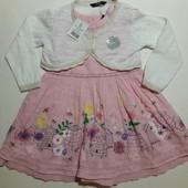 Новый комплект платье и болеро George на 1. 5- 2 86-92