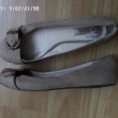 Zara Collection балетки 39р. 25см