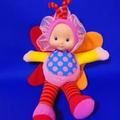 Мягкая кукла - бабочка,шелестящие крылья,первая  кукла