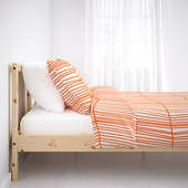 Скидка -20% Каркас детской кровати из натурального дерева Fjellse, Ikea (Икеа)