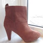 Замшевые ботинки H&M 40 р.