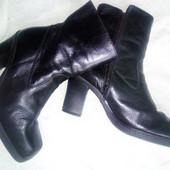 Ботинки Bronx кожаные 38-39  фирменные сапоги