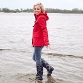Отличная красненькая куртка Softshell от Tchibo размер 44, наш 50-52