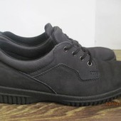 Кожаные туфли -ботинки Ecco Soft р.40