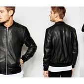 Куртка мужская классическая кожзам