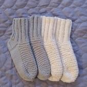 Вязаные носочки на стопу 14 см