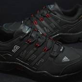 Мужские кроссовки Adidas Gore-tex черные