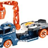 Hot Wheels Эвакуатор автокран звук и всет lights and sounds vehicle, spinnin´ sound сrane