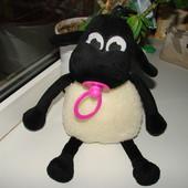 шерстяная овечка 36 см (покупали в этом году в Прикарпатье) новая,не игрались.