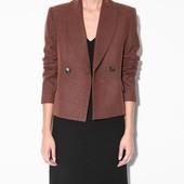 Пиджак шерстяной Mango р. S блейзер