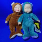 Кукла - сплюшка в виде мишки Lucky baby