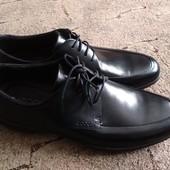 Оригинал.ECCO кожаные туфли   р.45 по супер цене