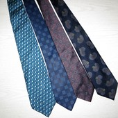 брендовые галстуки Gianni Versace,Valentino,Lanvin 100% шелк