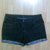 Фирменные джинсовые шорты L-XL