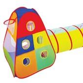 Палатка с тоннелем и кольцом для игры в мяч, артикул 889-175B