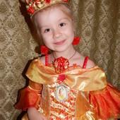 Новогодние карнавальные платья Принцессы Дисней Прокат