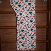Штаны флисовые,пижамные,женские, размер L