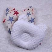 Детская ортопедическая Подушка двухстороняя Minky
