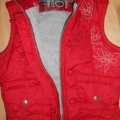8-10-12 Next Красная жилетка с шитьём Турция