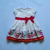 9-12 мес Нарядное платье M&S