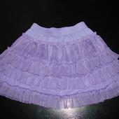 красивенная нарядная юбка Gap 9-12 месРеально до 2 лет) на х/б подкладке как новая