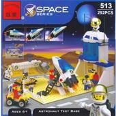 Конструктор Тренировочная база астронавтов, Brick 513, 292 детали