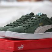 Кроссовки Puma Suede green