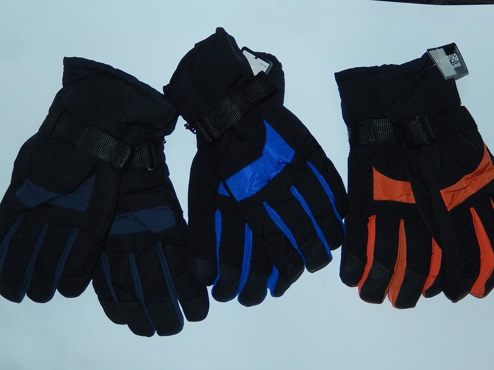 Лыжные мужские перчатки на подростка или не очень большая мужская рука фото №1