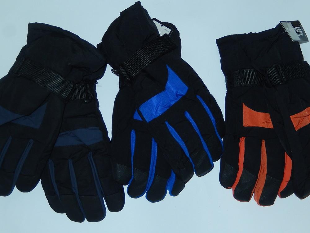 Лыжные мужские перчатки на подростка или не очень большая мужская рука фото №2