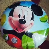 Фольгированный шар с изображением Микки Мауса!