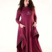 Размеры 50-54 Стильные ангоровые женские платья