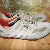 (№і291)фирменные кожаные кроссовки 44 р Geox
