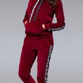 Стильные велюровые женские спортивные костюмы