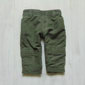 Стильные штаники для модника. Внутри на трикотажной подкладке. Early Days. Размер 6-9 месяцев