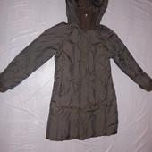 пуховое пальто, р. 140-146-152, термокуртка зимнее пальто