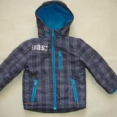 Фирменная демисезонная термо куртка парка на 1,5-2 года идеал