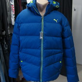 Пуховик Puma men hooded down jacket Оригинал р.S