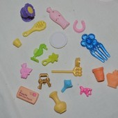 Фирменные аксессуары для кукол барби пет шопов и не только разные аксессуары