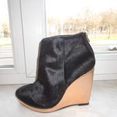 Кожаные ботинки Top Shop 40 р
